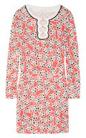 Diane Von Furstenberg Odetta Printed Silkjersey Mini Dress