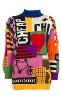 Moschino Vintage Graphic Print Sweater - Lyst