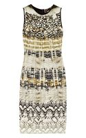 Giambattista Valli Animal-print Knitted Dress