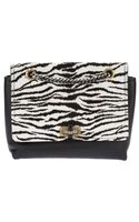 Lanvin Zebra Print Happy Shoulder Bag - Lyst