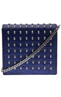 Thomas Wylde Croco Embossed Cross Body Bag - Lyst