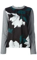 Marni Floral Detail Sweater - Lyst