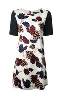 Marc By Marc Jacobs Floral Print Dress