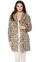 By Malene Birger Cheetah Coat - Lyst