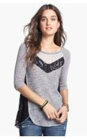 Free People Mix Up Hacci Top