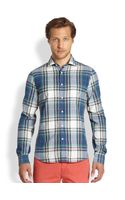 Gant Rugger Madras Shirt - Lyst