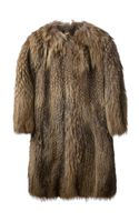 Meteo By Yves Salomon Fur Coat