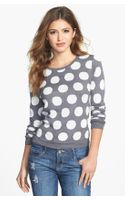 Kensie Reversible Dot Sweater