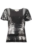 Michael by Michael Kors  Sequin Top