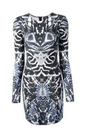 McQ by Alexander McQueen Alexander Mcqueen Printed Dress