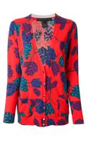 Marc By Marc Jacobs Floral Print Cardigan