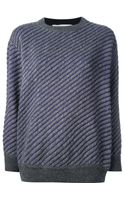 Stella McCartney Striped Sweater - Lyst