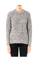 Theory Chunky Knit Wool Sweater
