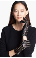 Surell Studded Leather Gloves
