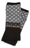 Echo Geo Studded Fingerless Gloves
