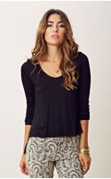 Otis & Maclain Kate Long Sleeve Top - Lyst