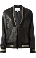 3.1 Phillip Lim Leather Jacket - Lyst