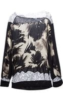 Blumarine Printed Sweater