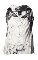 Akira Cracked Print Panel Top