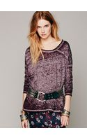 Free People Super Soft Washed Pullover - Lyst
