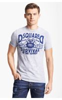 DSquared2 Survival Tshirt - Lyst