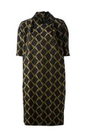 Bernhard Willhelm Stitched Knee Length Dress - Lyst