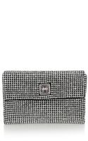 Karen Millen Limited Edition Crystal Encrusted Clutch