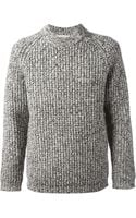 YMC Knitted Sweatshirt - Lyst