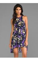 Shona Joy Love State Baby Doll Dress in Purple