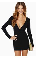 Nasty Gal Knot Over You Dress - Lyst