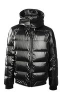 Les Hommes Hooded Padded Jacket - Lyst
