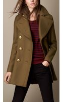 Burberry Oversize Felted Wool Coat - Lyst