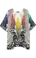 Etro Printed Silk Coverup - Lyst