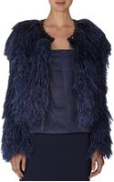 Givenchy Feather Bolero Jacket - Lyst