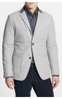 Boss by Hugo Boss Marwin Regular Fit Microcheck Quilted Sportcoat