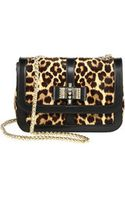 Christian Louboutin Sweet Charity Calf Hair Small Shoulder Bag - Lyst