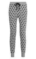 Markus Lupfer Smacker Lipprint Cotton Track Pants