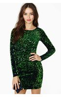 Nasty Gal Motel Gabby Sequin Dress