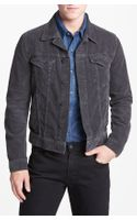 Ag Adriano Goldshmied Jeans Jake Slim Fit Corduroy Jacket