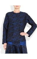 Stella McCartney Wool Blend Brocade Top