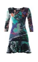 Mary Katrantzou Flick Fauwinding Print Dress - Lyst