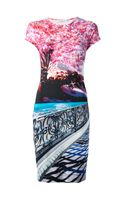 Mary Katrantzou Elay Printed Jersey Dress - Lyst