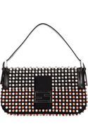 Fendi Multicolor Stud Baguette Bag - Lyst