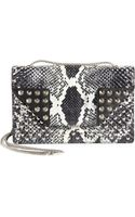 Saint Laurent Python Multistud Betty Mini Bag - Lyst