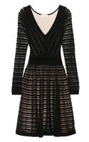 Temperley London Daisy Ribbon Merino Wool Blend Dress