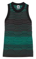 M Missoni Crochet Knit Top - Lyst