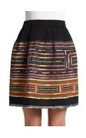 Sachin & Babi Reese Embroidered Skirt - Lyst