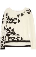 Dagmar Annie Fine Knit Wool Blend Sweater - Lyst