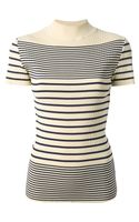 Jean Paul Gaultier Striped Top - Lyst