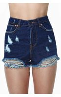 Nasty Gal Due West Cutoff Shorts